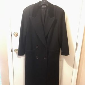 Ladies' harve bernard wool blend winter coat sz L